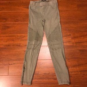 Pants - Moto zippered leggings